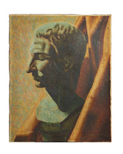 Oil on Canvas Roman Bust