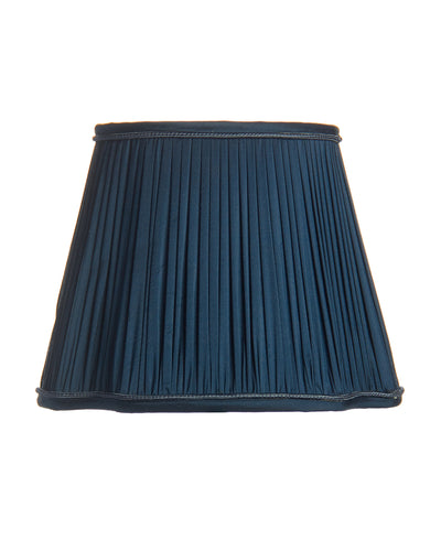 Pleated French Oval Royal Navy Lampshade
