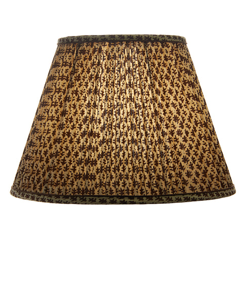 Classic Empire Pleated Sister Parish Brown Print