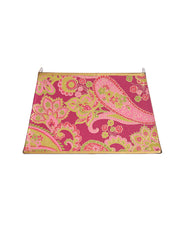 Shield Shade Pink Paisley Tri Shield Lampshade