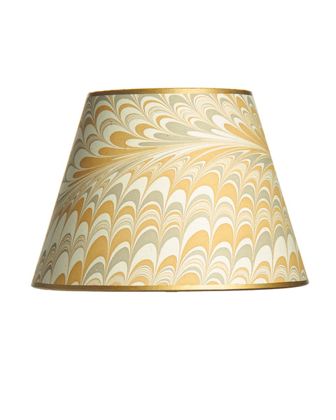 Empire Silver Gold Pulled Design Lampshade