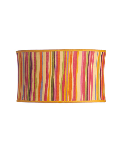 Surfboard Oval Stretched Etro Cabana Stripe Lampshade