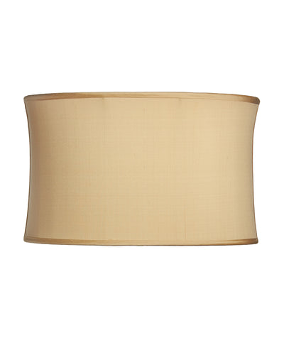 Stretched Oval Ivory Shantung