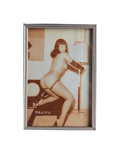 Vintage Photo Naked Betty Page