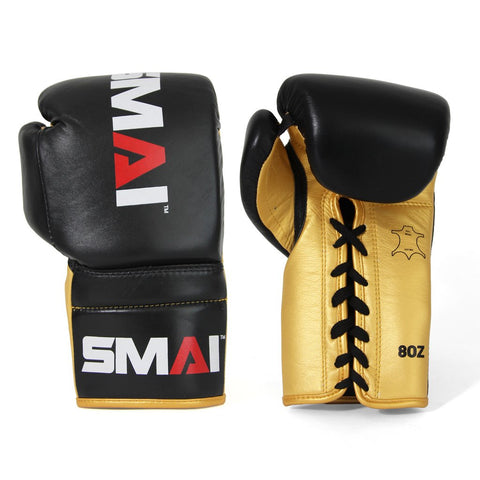 SMAI BOXING GLOVES LACE UP