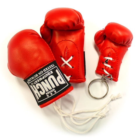 MINI BOXING GLOVES KEY RING PACK