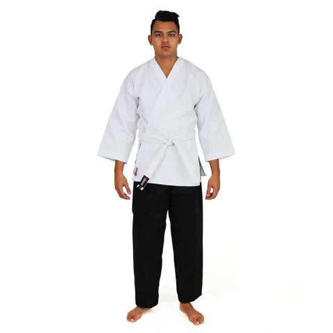 KARATE UNIFORM - 8OZ STUDENT GI (SALT & PEPPER)