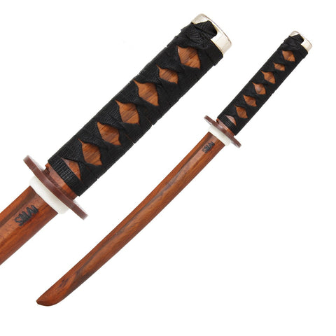 SHOTO - RED OAK (BOUND HANDLE) - Talon Fight Gear