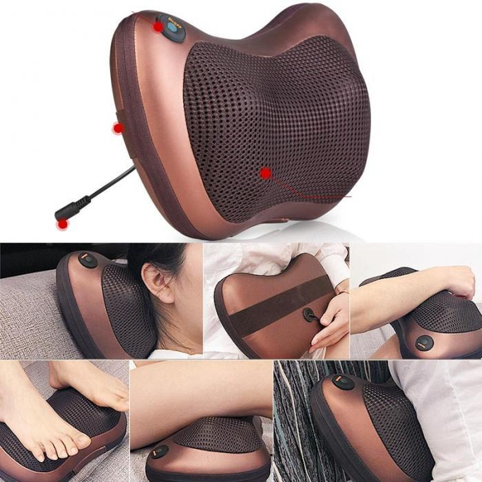 Relaxation Massage Pillow - Shiatsu Multifunctional Massage Cushion