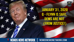 Flynn is SAFE, Dems are NOT (From JUSTICE!)