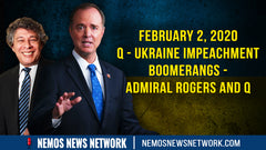 Ukraine Impeachment BOOMERANGS - Admiral Rogers and Q