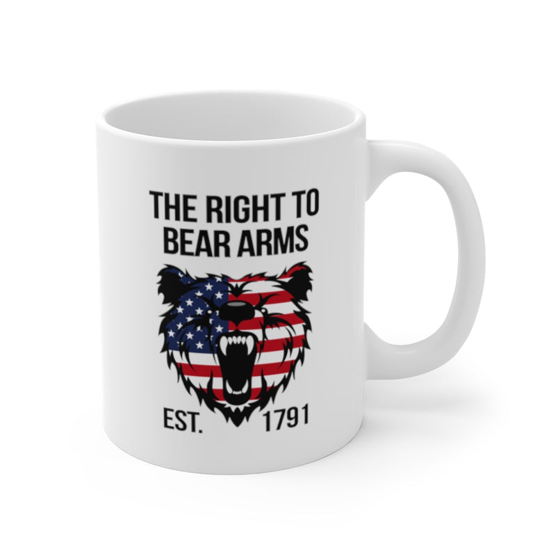 The Right To Bear Arms Mug 11oz