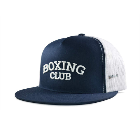 Boxing Club Trucker Hat - Navy