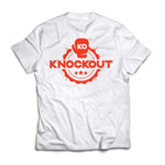 Knockout Logo T-Shirt - Red
