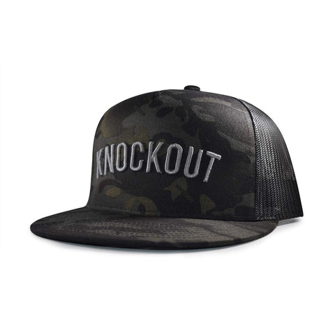 Knockout Jungle Trucker Hat - Camouflage