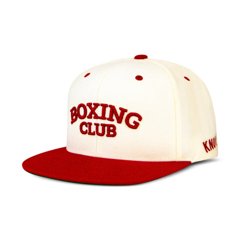 Boxing Club Hat - Red/White