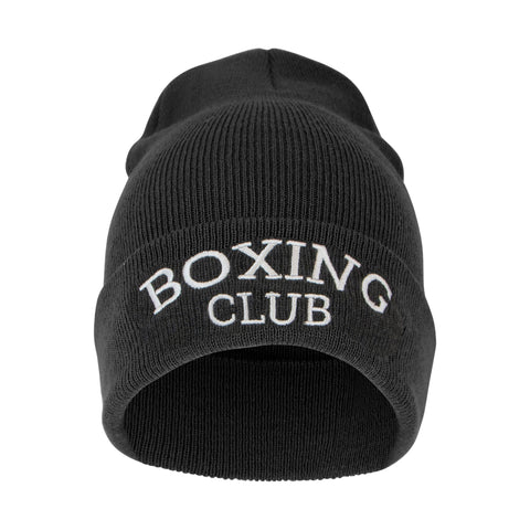 Boxing Club Beanie - Grey Black