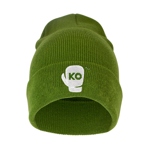 KO Beanie - Heather Green