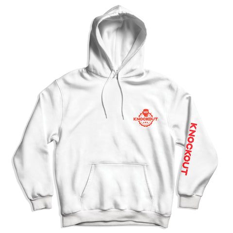 Knockout Hoodie - White