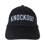 Knockout Dad Hat - Black