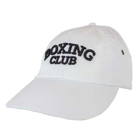 Boxing Club Hat - White Side