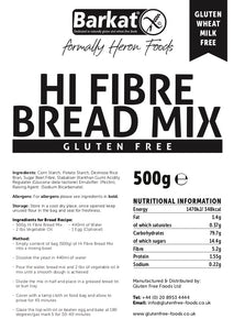 Heron Food Gluten Free Hi-Fibre Bread Mix