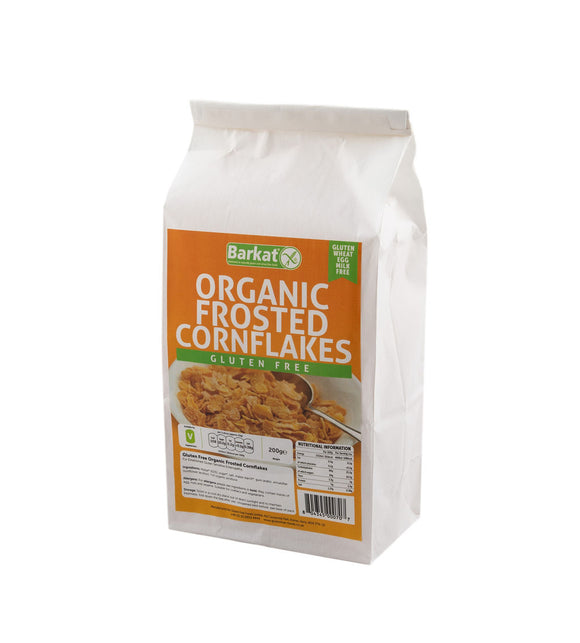 Gluten Free Organic Frosted Cornflakes