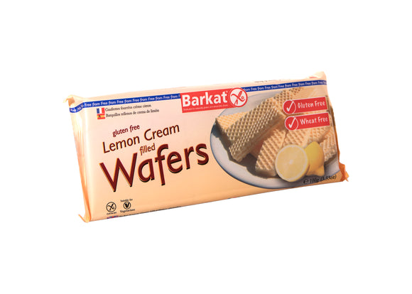 Gluten Free Lemon Cream Filed Wafers