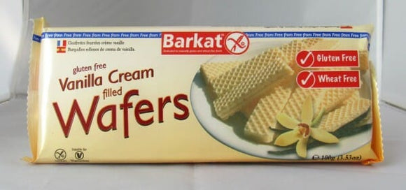 Gluten Free Vanilla Cream Filled Wafers