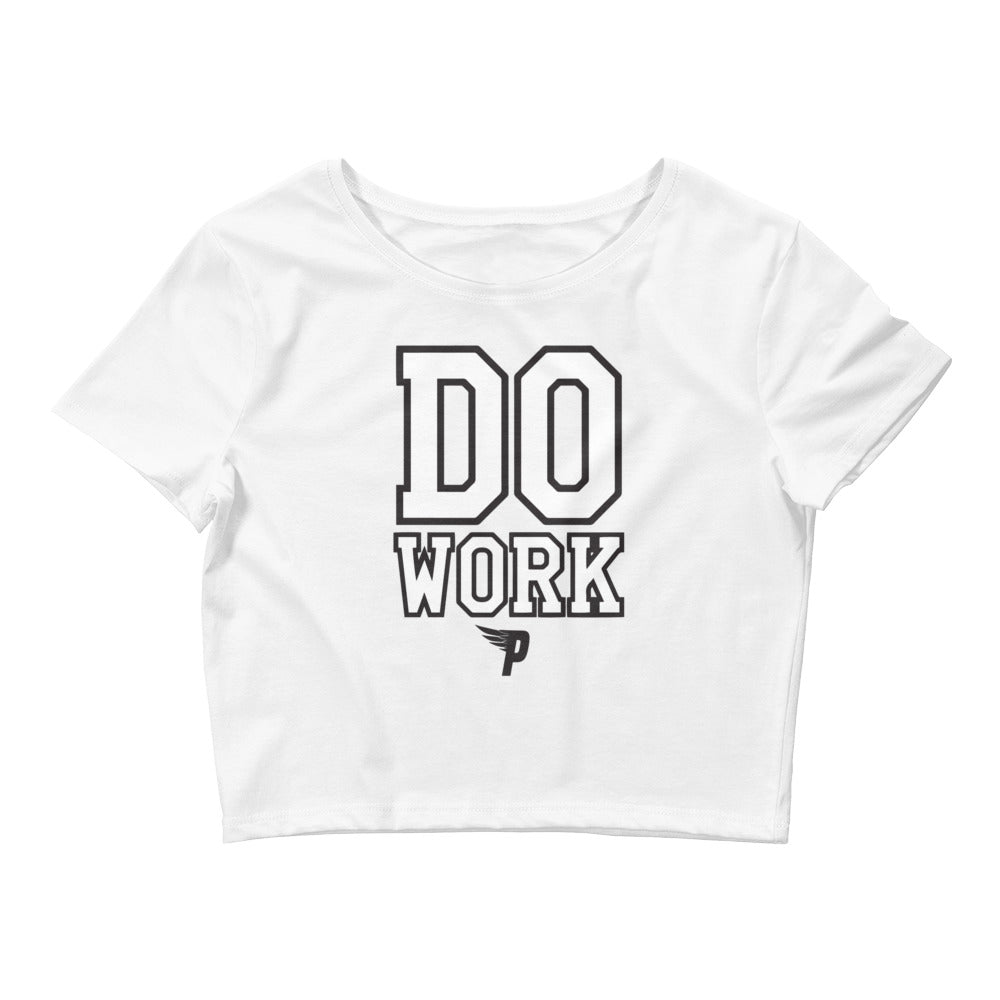 Pure - Do Work Crop Top