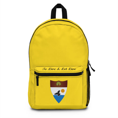 Yellow Liberland Backpack