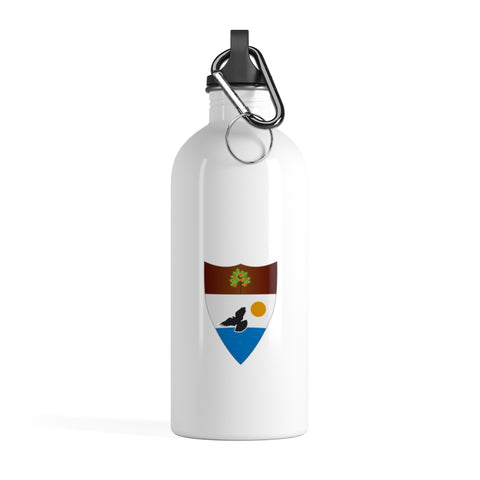 White Liberland Stainless Steel Water Bottle