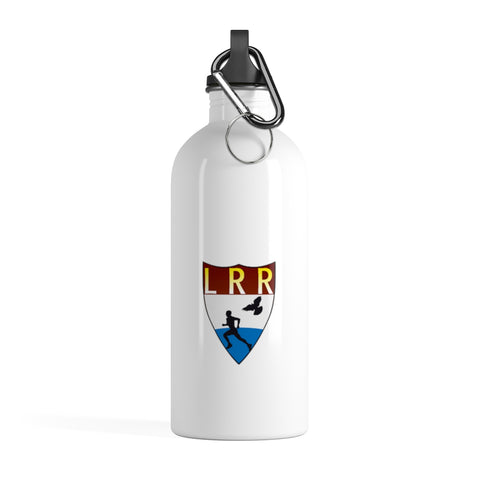 White Liberland Road Runners Stainless Steel Water Bottle
