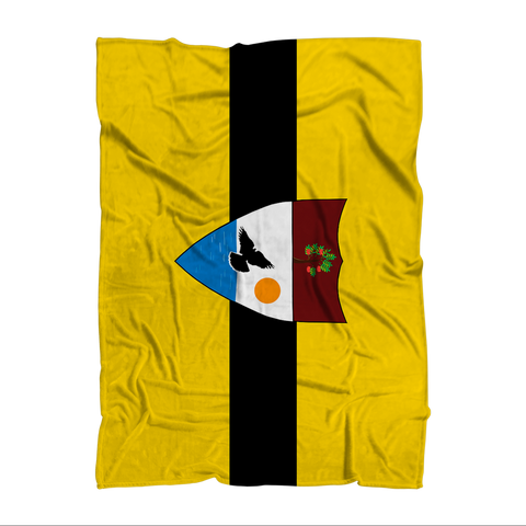 Liberland Throw Blanket