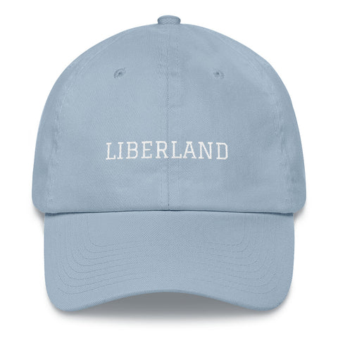 Light Blue & White Liberland Hat