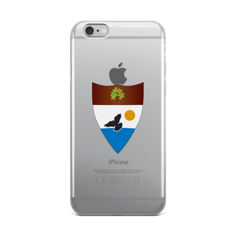 Clear Liberland iPhone Case