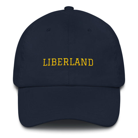Navy & Gold Liberland Hat