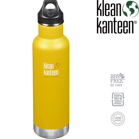 Klean Kanteen - Insulated Classic Bottle, 20oz (592ml)