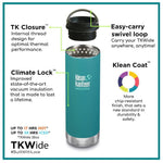 Klean Kanteen - Insulated TKWide Flask, 12oz (335ml)
