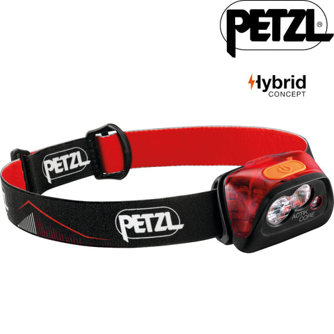 Petzl - Actik CORE Rechargeable LED Headlamp (450 LUMENS)
