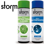 Storm Wash In Cleaner And Waterproofer 300ml Twin Pack