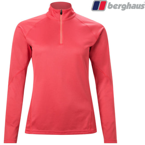 Berghaus - Women's Tech Tee Long-Sleeve Zip Neck