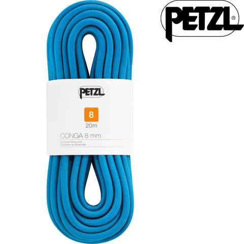Petzl - Conga 8mm Walking Rope, 20m