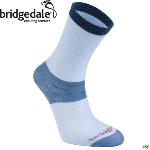 Bridgedale Womens Coolmax Sock Liner (2-pair Pack)
