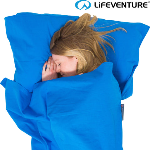 Lifeventure - Cotton Sleeping Bag Liner (Rectangular)