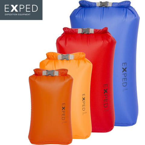 Exped - Ultralight Fold Drybag 4-pack (XS, S, M, L)