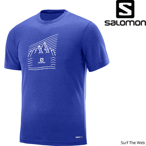 Salomon Men's Explore Graphic SS Tee