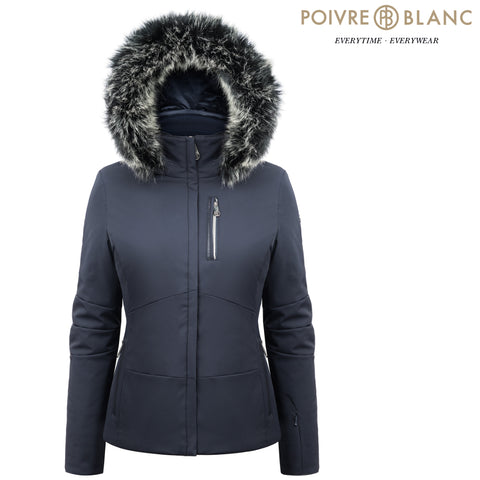 Poivre Blanc - Women's Stretch Ski Jacket, Gothic Blue