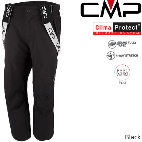 CMP Hays Stretch Ski Salopette Short Leg