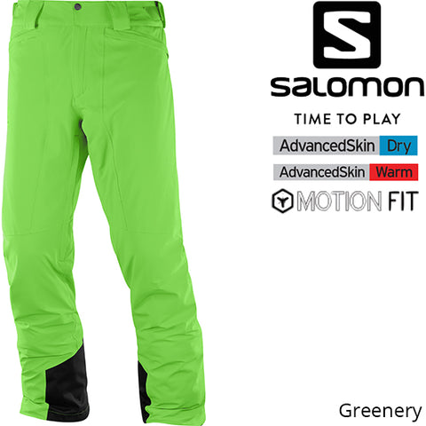 Salomon Icemania  Pant Greenery